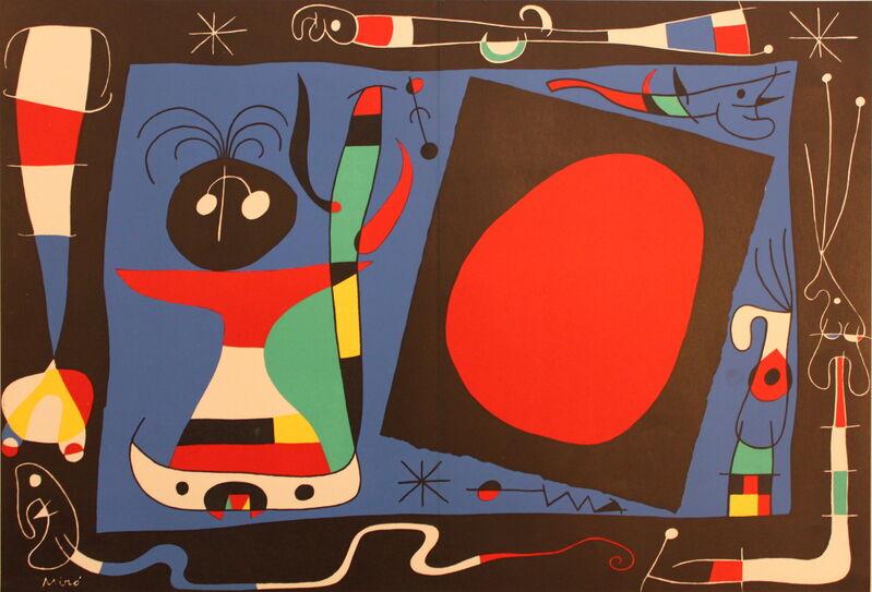 Joan Miró, 'Femme au Miroir', 1956, Print, Lithograph, Juffermans Fine Art