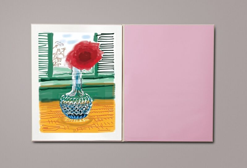 David Hockney, 'David Hockney. My Window  with No. 281', 23rd July 2010', 2020, Books and Portfolios, Hardcover in clamshell box , 8-color inkjet print on cotton-fiber archival paper, Viacanvas