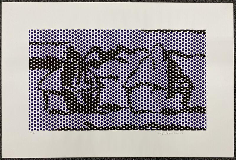 Roy Lichtenstein, 'Haystacks #3', 1969, Print, Lithograph and screenprint on Rives BFK paper, DANE FINE ART