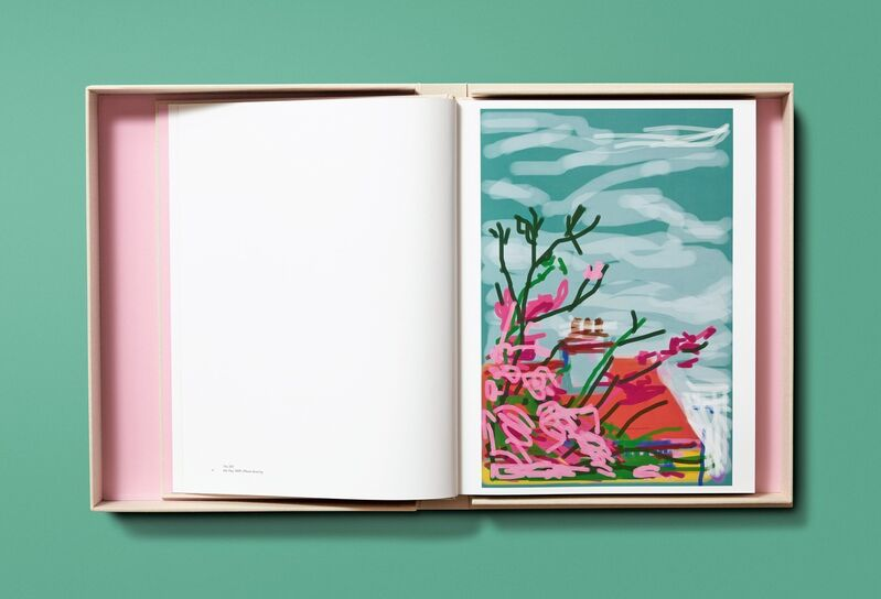 David Hockney, 'My Window, Art Edition (No. 751-1,000) 'No. 778'', 2020, Books and Portfolios, 8-color inkjet print on cotton-fiber archival paper, with hardcover clamshell box, Reem Gallery