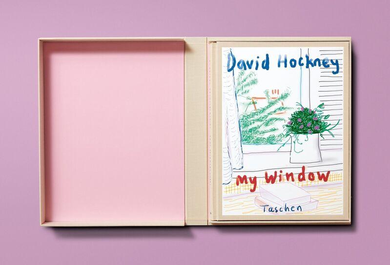 David Hockney, 'My Window, Art Edition (No. 751–1,000) 'No. 778', 17th April 2011', 2019, Print, IPad drawing printed on archival paper, Artree
