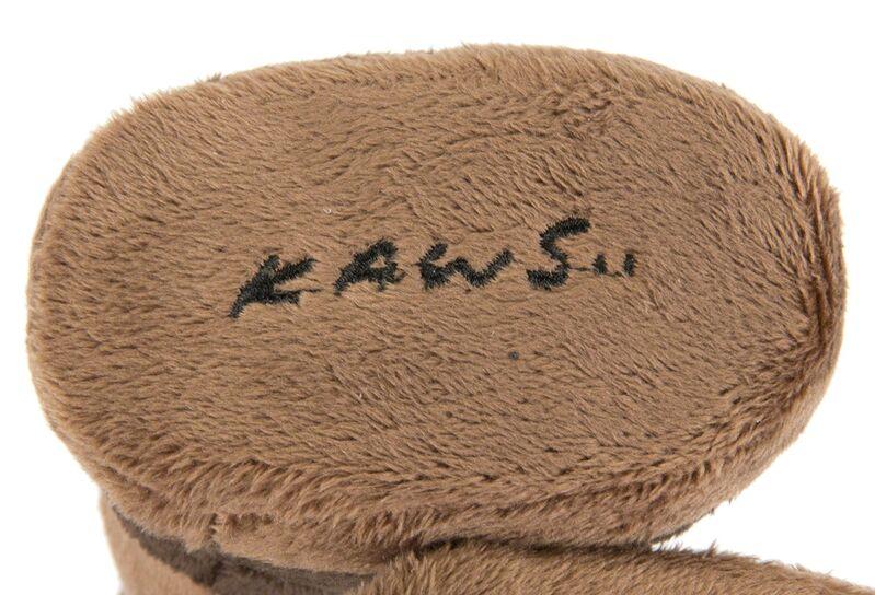 KAWS, 'Companion Plush (Brown)', 2015, Sculpture, Stuffed plush figure, Julien's Auctions