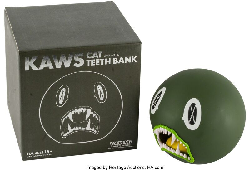 KAWS, 'Cat Teeth Bank (Green)', Other, Heritage Auctions