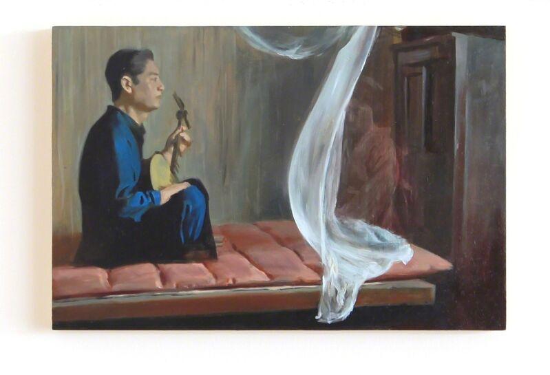 Lian Zhang, 'Breeze', 2013, Painting, Oil on board, Lychee One