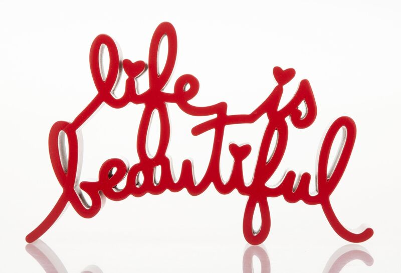 Mr. Brainwash, 'Life is Beautiful (Red)', 2015, Sculpture, Painted cast resin, Heritage Auctions