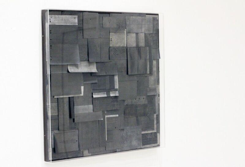 Renato Bezerra de Mello, 'Folhas em Branco', 2015, Mixed Media, Grafites sobre documentos antigos, Galeria Inox