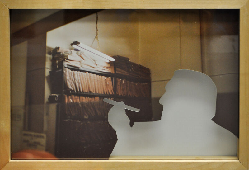 Daniela Comani, 'Soggetti assenti', 1995-1996, Photography, Cut c-print, Galleria Studio G7