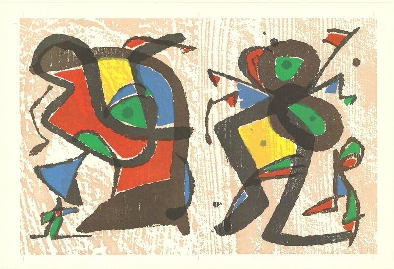 Joan Miró, 'From Ceramics', (Date unknown), Drawing, Collage or other Work on Paper, Mixed Media, ArtWise