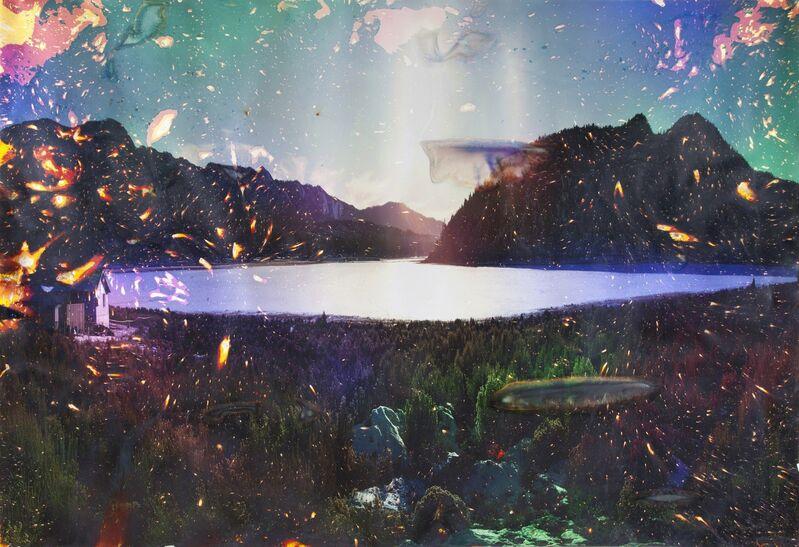 Matthew Brandt, 'Sylvan Lake, SD 3.', 2012, Photography, Unique chromogenic print soaked in Sylvan Lake water, Virginia Museum of Contemporary Art