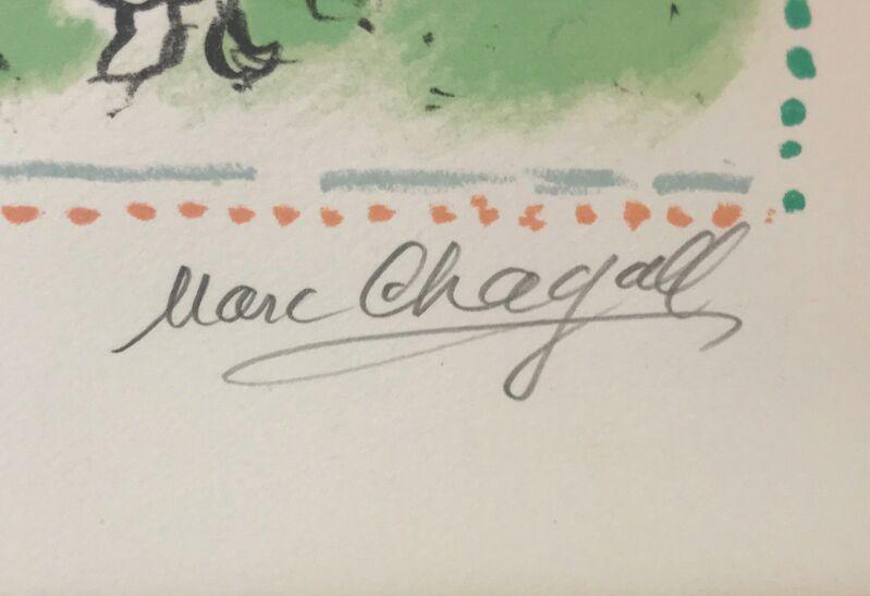 Marc Chagall, 'LE RENDEZ-VOUS', 1983, Print, COLOR LITHOGRAPH, Gallery Art