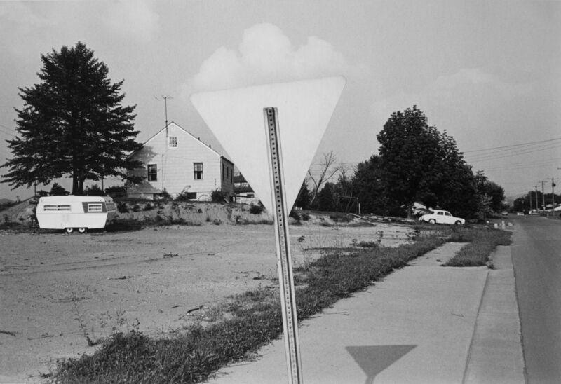 Lee Friedlander, 'Knoxville, Tennessee', 1971, Photography, Gelatin silver print, printed c. 1971, Bruce Silverstein Gallery