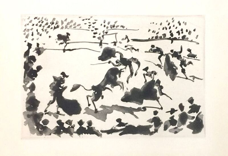 Pablo Picasso, 'La Tauromaquia', 1959, Other, Illustrated Book, Wallector