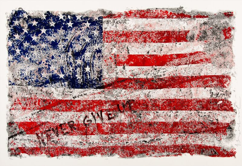 Mr. Brainwash, 'Freedom', 2017, Print, Screenprint in colors on wove paper, Heritage Auctions