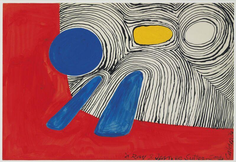 Alexander Calder, 'Sans titre', 1970, Painting, Gouache on paper, Connaught Brown