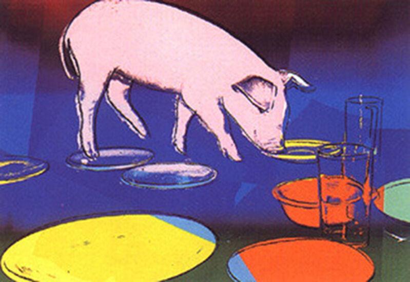 Andy Warhol, 'FIESTA PIG FS II.184', 1979, Print, Screen print on Arches 88 paper, Marcel Katz Art