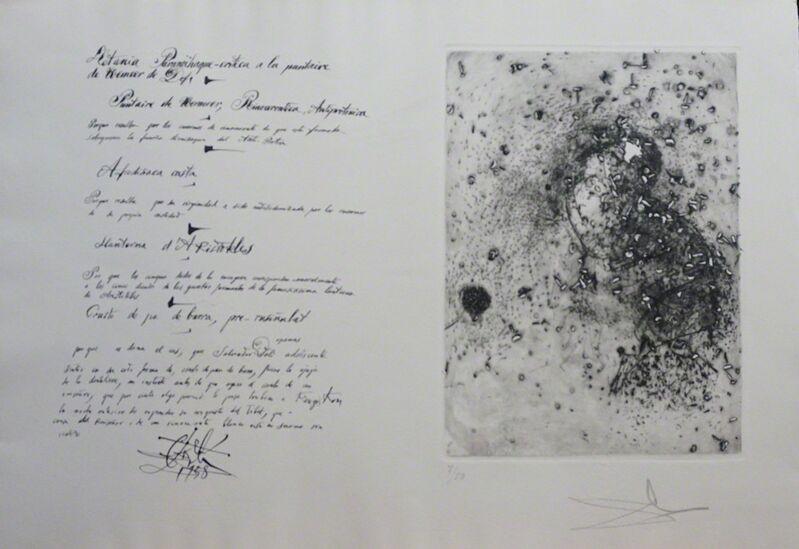 Salvador Dalí, 'La Dentelliere', 1958, Print, Etching, Fine Art Acquisitions Dali