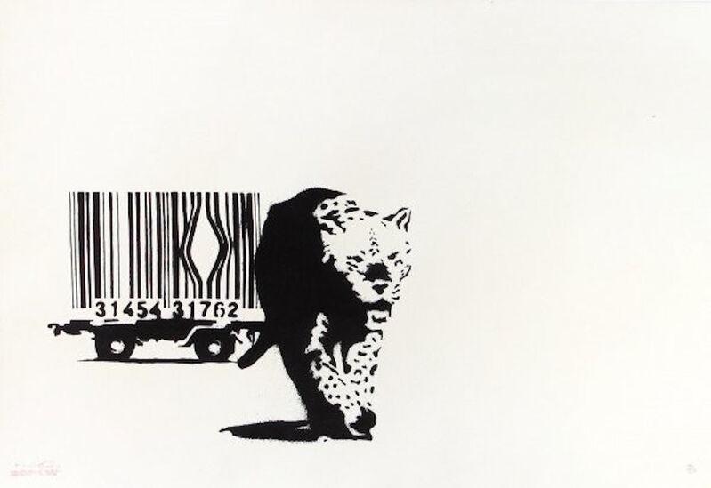 Banksy, 'Barcode', 2004, Print, Screen-print in colors on wove paper, MoonStar Fine Arts Advisors
