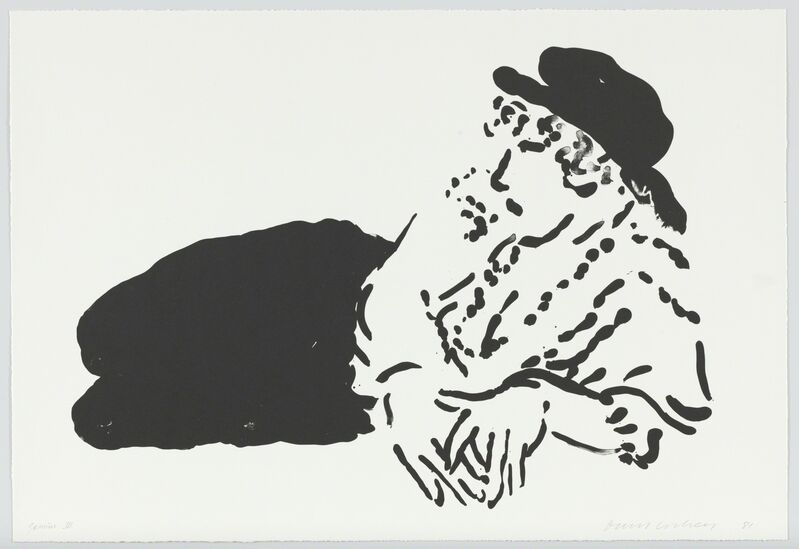 David Hockney, 'Celia (La Bergere)', 1981, Print, Lithograph, Mary Ryan Gallery, Inc