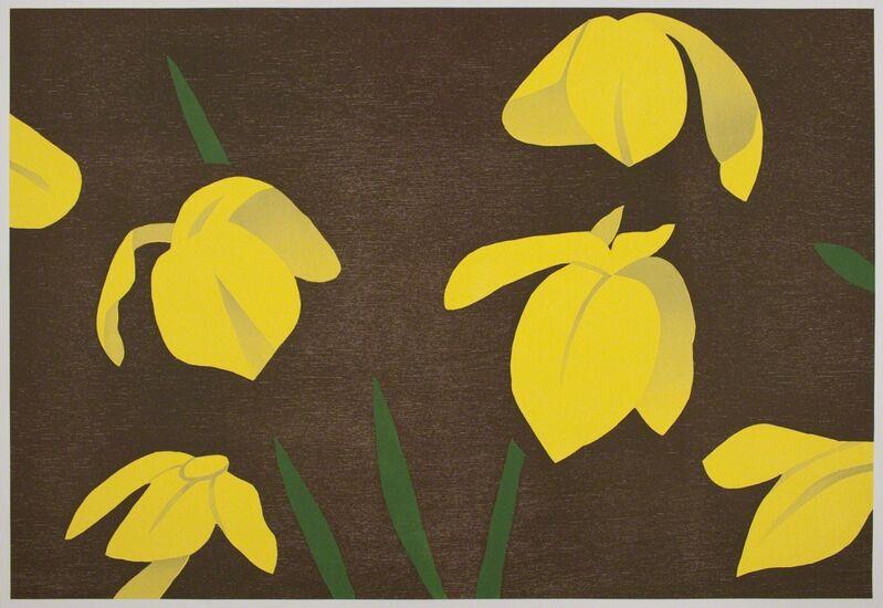 Alex Katz, 'Yellow Flags', 2013, Print, Woodcut on Rives Heavyweight paper, Betsy Senior Fine Art