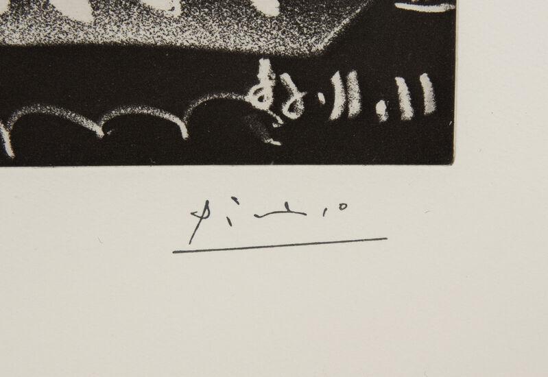 Pablo Picasso, 'Sous les feux de la rampe: Femme neus', 1966, Print, Etching and aquatint, Hindman
