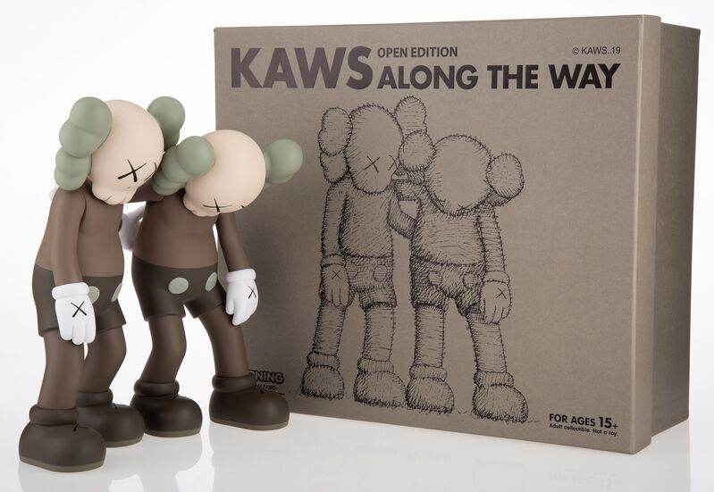 KAWS, 'Along the Way (Brown)', 2019, Sculpture, Painted cast vinyl, Heritage Auctions