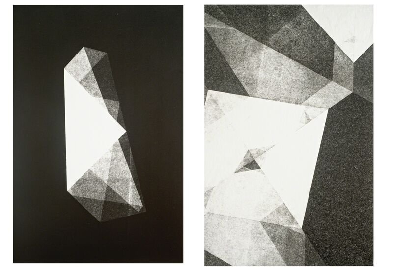 Maria Laet, 'Dobra  | Fold (diptych)', 2015, Drawing, Collage or other Work on Paper, 3+1 Arte Contemporânea