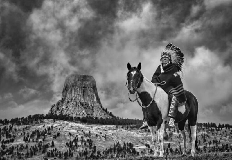 David Yarrow, 'Chief', 2020, Photography, Archival Pigment Print, A. Galerie