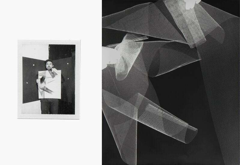 Bryan Graf, 'Shot / Reverse Shot (Test)', 2010, Photography, Polaroid + Photogram, Yancey Richardson Gallery