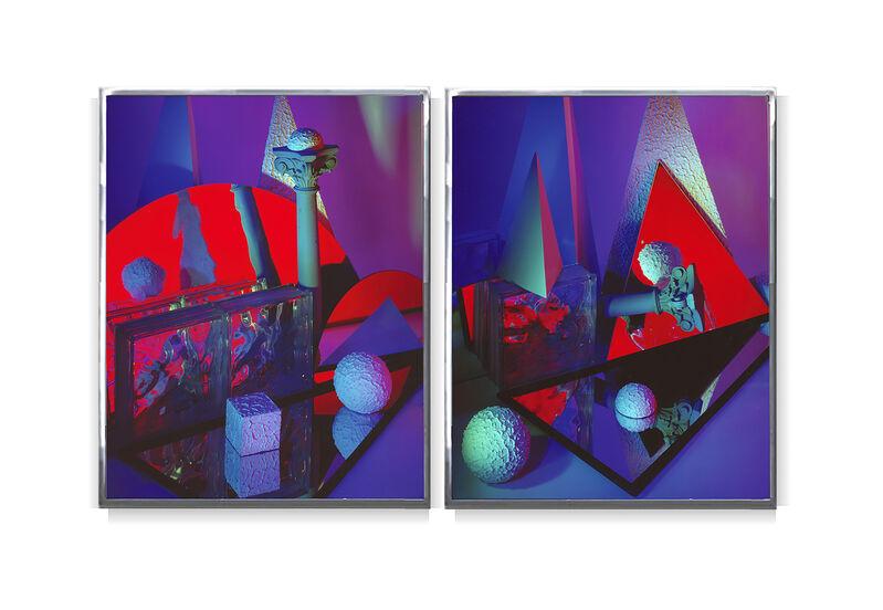 Barbara Kasten, 'Construct 31 Diptych', 1986, Photography, Cibachrome, Kadel Willborn
