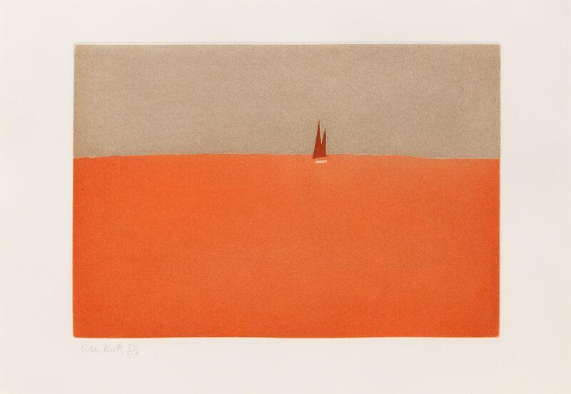 Alex Katz, 'Red Sails', Print, Aquatint, Hindman