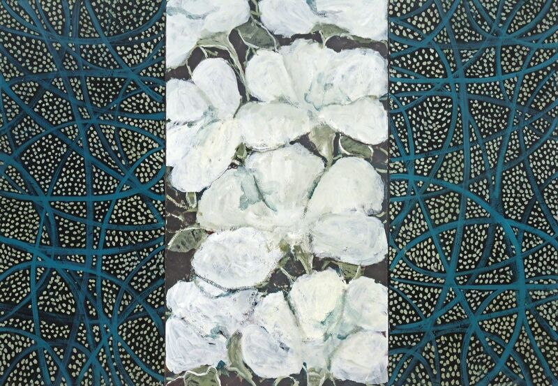 Edith Kuhnle, 'NIGHT BLOOMING II', 2014, Painting, Acrylic on canvas, Addison/Ripley Fine Art