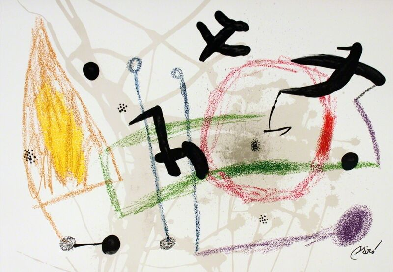Joan Miró, 'Maravillas #1057', 1975, Print, Stone Lithograph, ArtWise