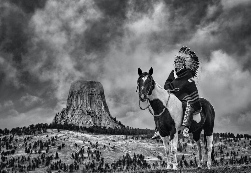 David Yarrow, 'Chief', 2020, Photography, Archival Pigment Print, Hilton Asmus