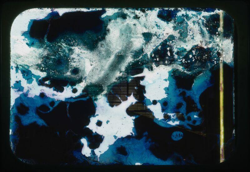 Lee Mullican, 'Tampered Slides', 1972, Photography, Burned, etched, 35mm slides, Equitable Vitrines