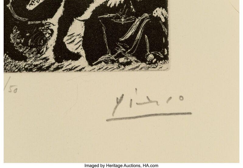 Pablo Picasso, 'Fernando de Rojas, La Célestine, pl. 33', 1970, Print, Etching and aquatint on Rives BFK paper, Heritage Auctions