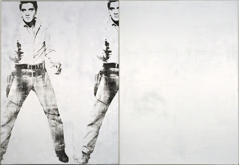 Andy Warhol, 'Double Elvis', 1963/1976, Painting, Silkscreen ink, synthetic polymer paint on canvas, Seattle Art Museum