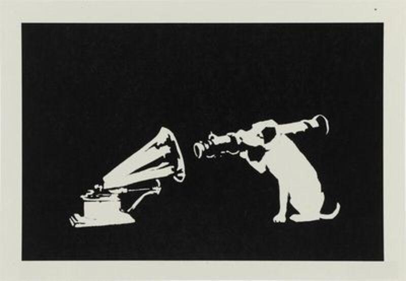 Banksy, 'HMV', 2003, Print, Screenprint, The Drang Gallery