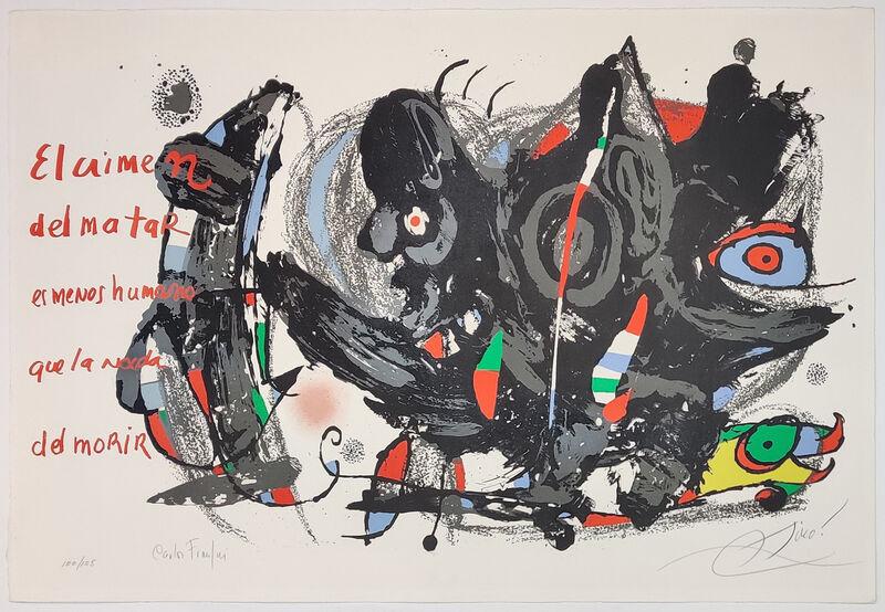 Joan Miró, 'UNTITLED (FROM POEMAS PARA MIRAR PORTFOLIO)', 1975, Print, LITHOGRAPH, Gallery Art