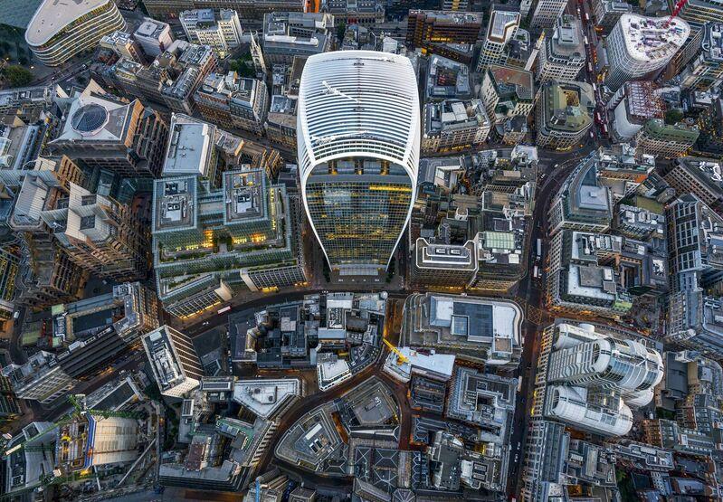 Jeffrey Milstein, 'Walkie-Talkie - London Aerials', 2016, Photography, Archival pigment print, ARTITLEDcontemporary