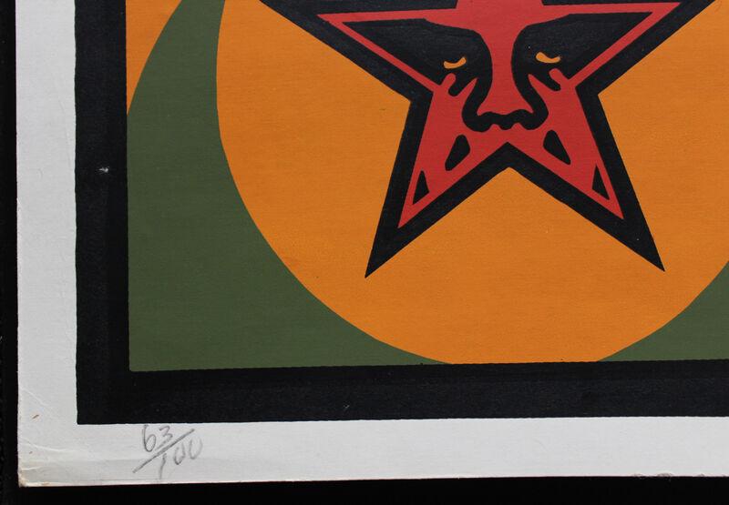 Shepard Fairey, 'Nubian Power to the Posse', 1998, Print, Screenprint, EHC Fine Art