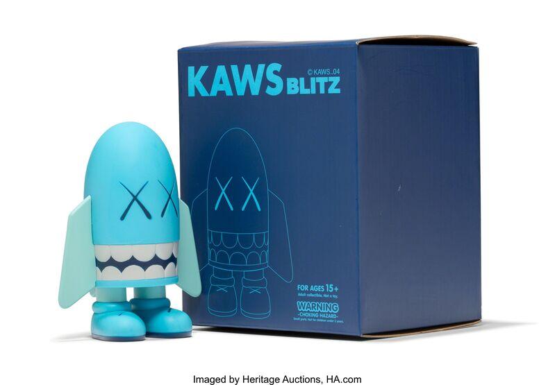 KAWS, 'Blitz (Blue)', 2004, Sculpture, Painted cast vinyl, Heritage Auctions