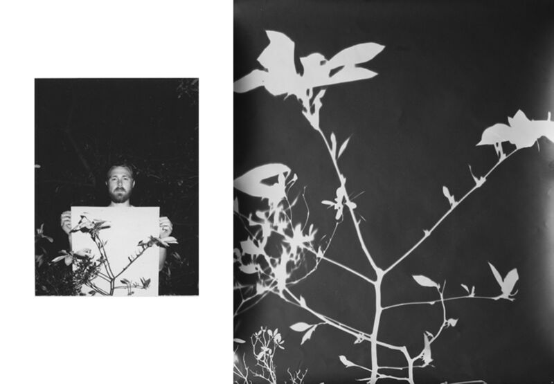 Bryan Graf, 'Shot/Reverse Shot 14', Photography, Polaroid + Photogram, Yancey Richardson Gallery