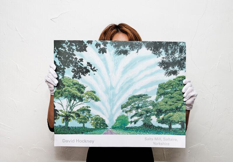 David Hockney, 'Summer Sky', 2008, Posters, Offset Print on Art paper, Artree