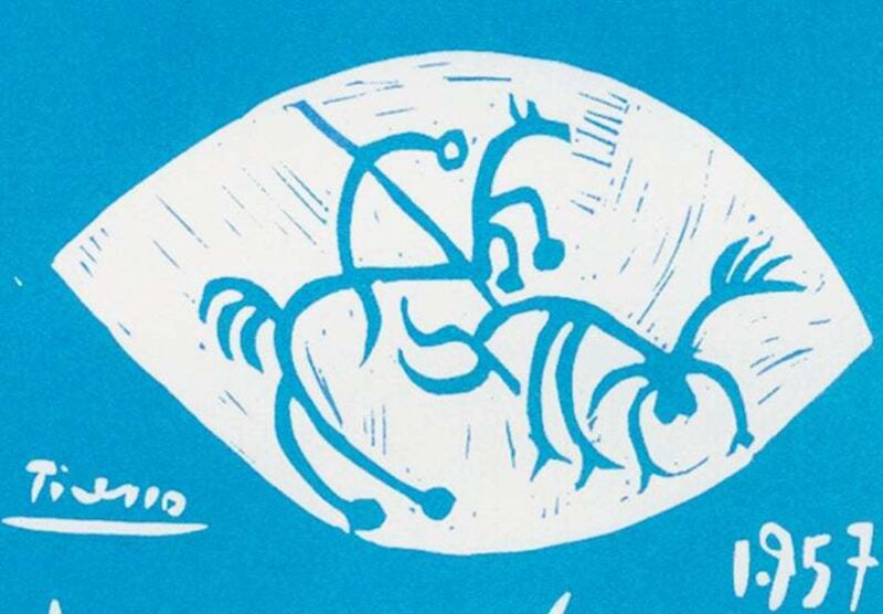 Pablo Picasso, 'Toros En Vallauris 1957', 1959, Print, Lithograph, Leviton Fine Art