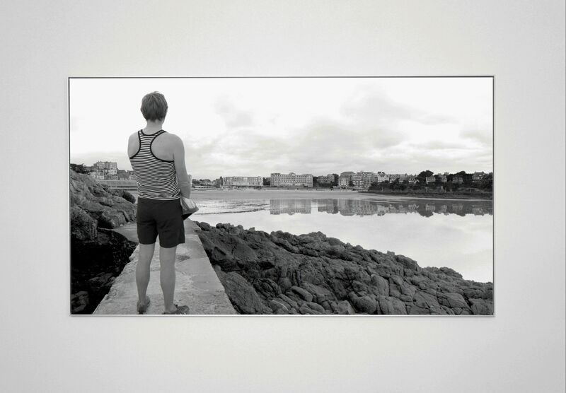 David Claerbout, 'The Quiet Shore (40A)', 2011, Photography, B&w photo on Baryte paper mounted on aluminum, Micheline Szwajcer