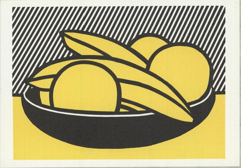 Roy Lichtenstein, 'Bananas and Grapefruit', 1972, Ephemera or Merchandise, Stone Lithograph, ArtWise