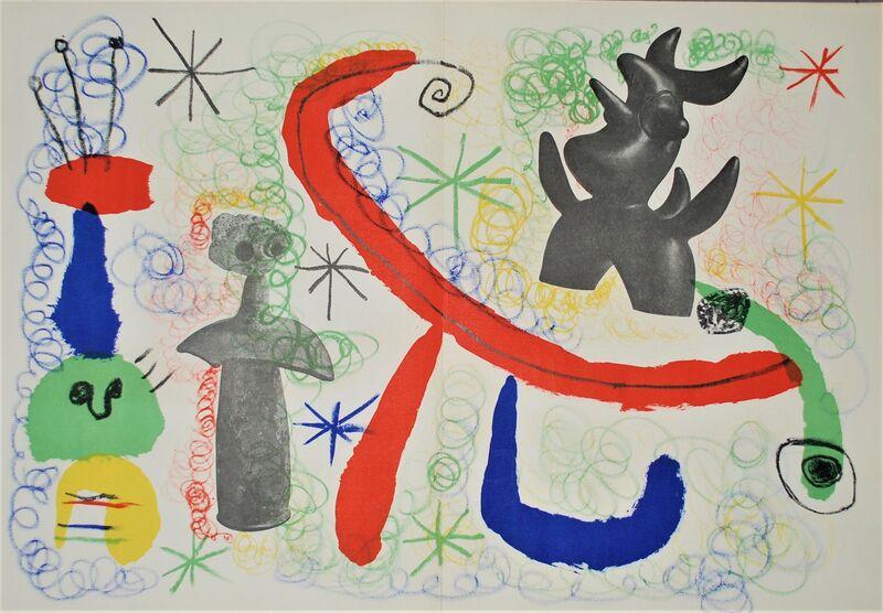 Joan Miró, 'Parler seul (Speaking Alone)', 1950, Print, Original lithograph on wove paper, Samhart Gallery