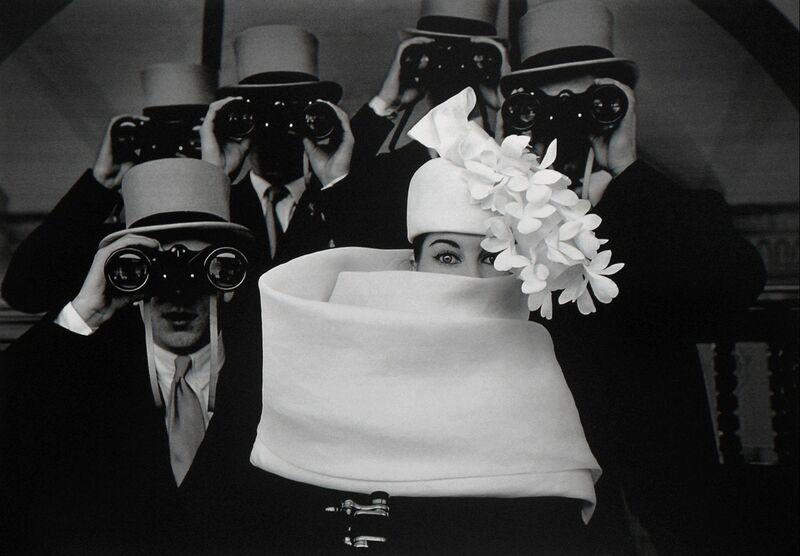 Frank Horvat, 'Paris, for Jardin des Modes, Givenchy Hat (B)', 1958, Photography, Archival Pigment Photograph, Holden Luntz Gallery