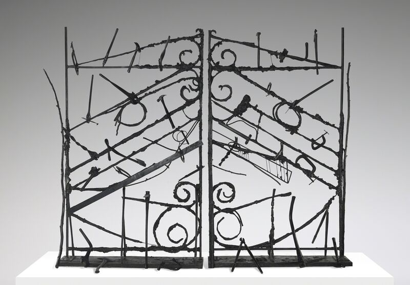Jim Dine, 'Crommelynck Gate With Tools', 1983, Sculpture, Bronze, Yale University Art Gallery
