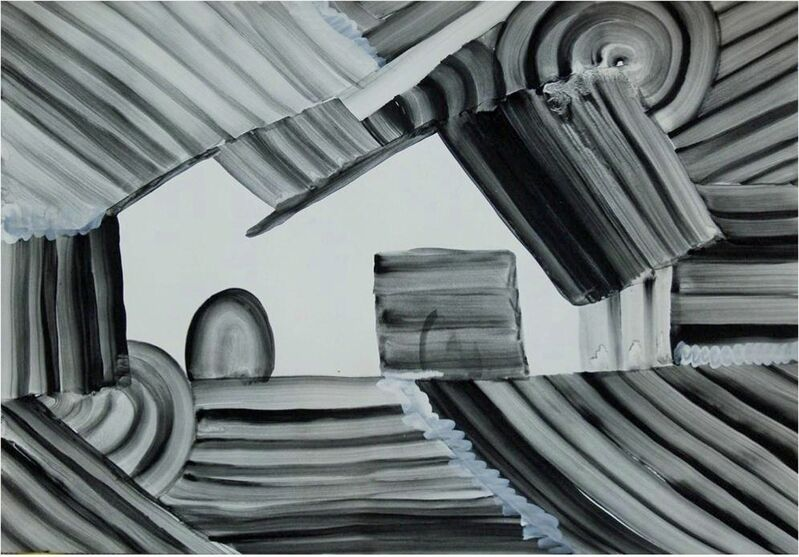 Miyuki Akiyama, 'Untitled', 2011, Drawing, Collage or other Work on Paper, Watercolor on paper, Japigozzi Collection